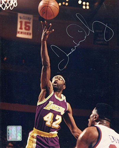 d85b3e1e71c James Worthy Signed Photo - 8x10 - Autographed NBA Photos at Amazon s  Sports Collectibles Store