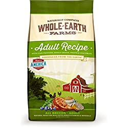 Merrick Whole Earth Farms Adult Dry Dog Food, 12 lbs.