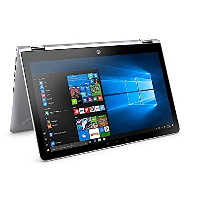 "HP X360 Business Flagship 2-in-1 Laptop PC 15.6"" FHD Touchscreen Intel i5-7200U Dual-Core Processor 8GB DDR4 RAM 1TB HDD Radeon DSC 530 Graphics Backlit-Keyboard B&O Audio Windows 10"