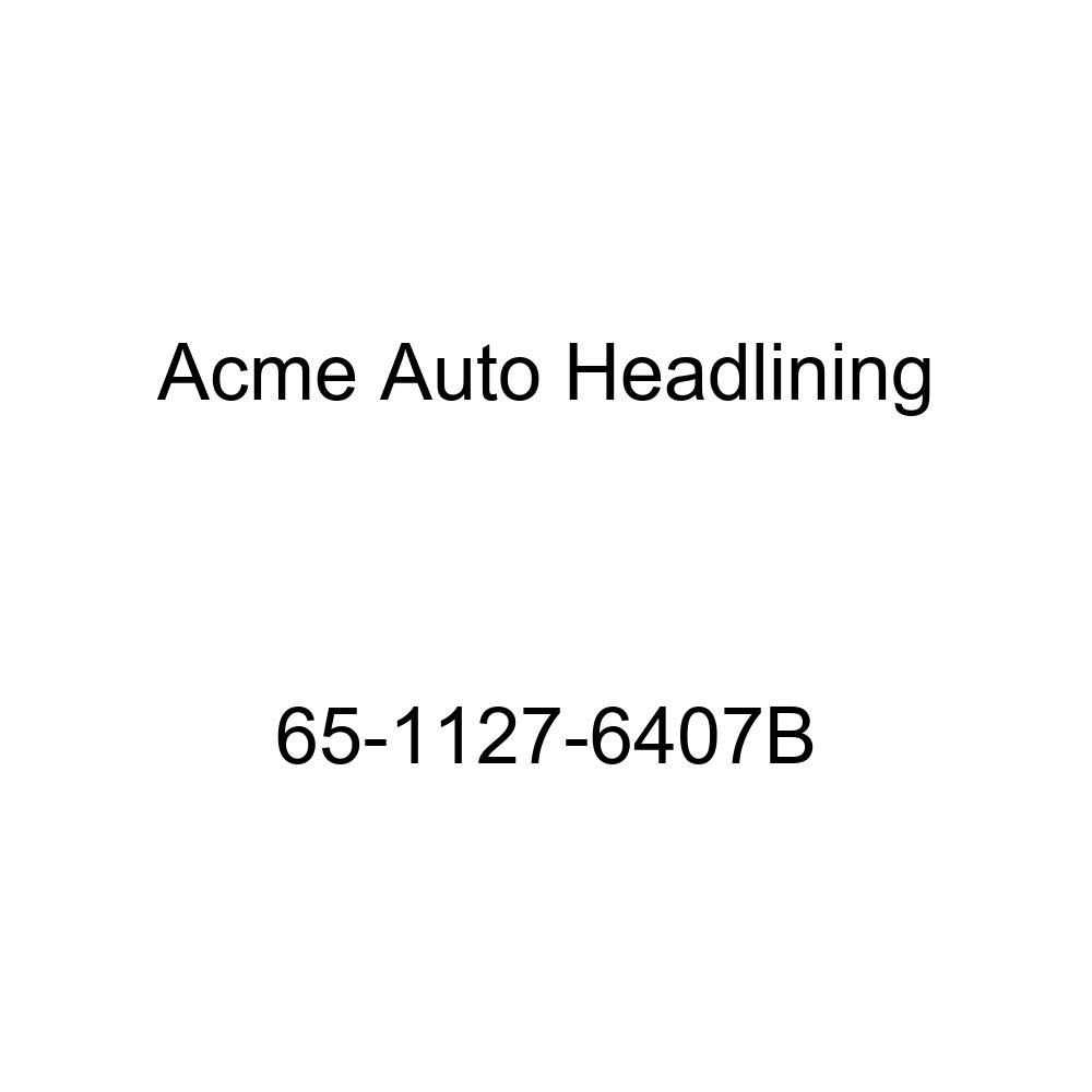 Acme Auto Headlining 65-1127-6407B Fawn Replacement Headliner Buick Skylark 4 Door Sedan