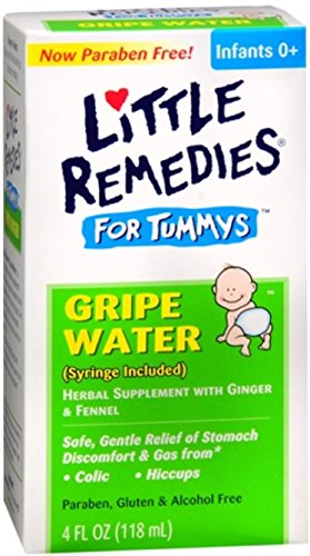 Little Tummys Gripe Water 4 oz (Pack of 12)