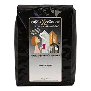 Cafe Excellence French Roast, Whole Bean Coffee, 2-Pound Bag