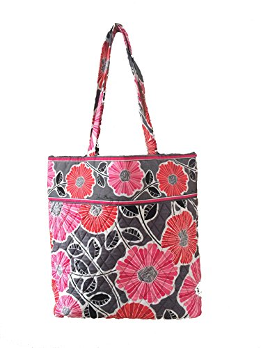 Tote Cheery Updated Solid Bradley Sea Version with Blossoms Color Interior Turtles Vera 4Aq56fw