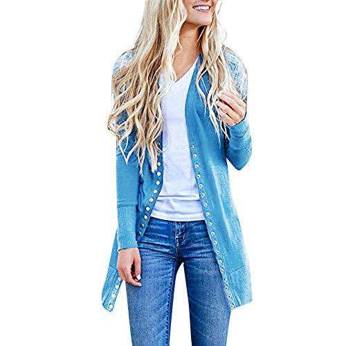 Pullover Abrigos Talla Mujer Capa Ashop Mujer Cielo Ropa Parka Jacket Invierno Azul Grande Chaquetas AwxnPq0n