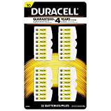 32pk Duracell Size 10 Mercury Free Zinc Air Hearing Aid Battery DA10B32ZM