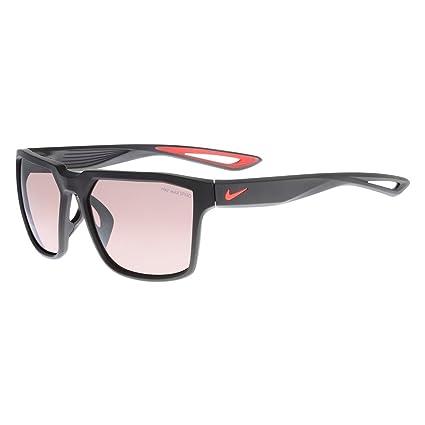 f4bfcd9548 Amazon.com   Sunglasses NIKE BANDIT E EV0950 001 MT BK BRGHT CRIMSON ...