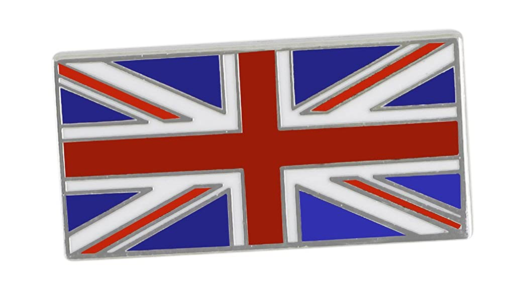 United Kingdom UK (Union Jack) British Flag Bulk Enamel Pins Forge britian1776
