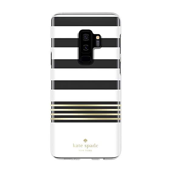 Kate Spade New York Phone Case | For Samsung Galaxy S9 Plus | Protective Clear Crystal Phone Cases with Slim Design and Drop Protection - Stripe 2 ...