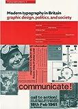 Modern Typography in Britain, Stuart Hall and Paul Stiff, 0907259391