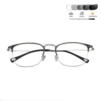 HQMGLASSES Gafas de Lectura para Hombres Gafas de Sol ...