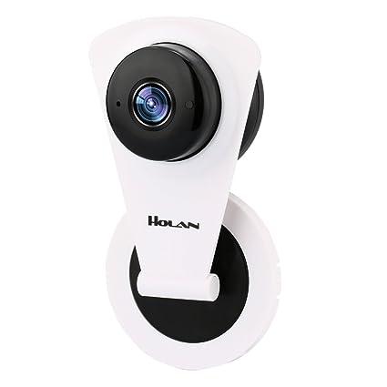 IP Camera Holan Network Camera, Wireless Vigilancia Visore Nocturno, detector Movements and Sounds Alarma