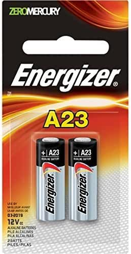 Energizer Miniature Alkaline Watch/Electronic Battery A23bpz-2, 2-Count
