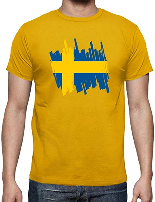 latostadora - Camiseta Bandera Suecia para Hombre: jipyconjota ...