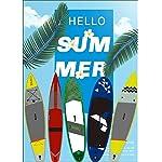 DIMPLEYA-SUP-Paddle-Board-Paddle-Gonfiabile-350-Centimetri-Fino-in-PVC-per-Livelli-compresi-Tutti-Adatti-per-Sea-Surf-Grey-Dimensione-350x79x15cmGrigio350x79x15cm
