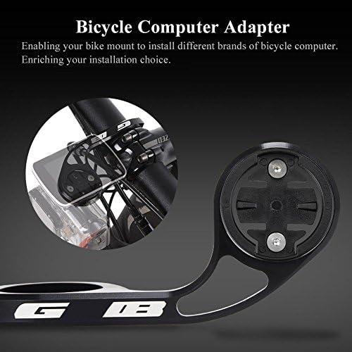 base de ordenador de la bicicleta adaptador de montura de pl/ástico para ciclismo ordenador Out frontal soporte
