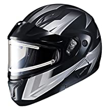 Hjc Snowmobile Helmet - Heated Shield - Clmax2 Ridge Mc5 Silv 4X