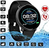 Fitness Tracker,Activity Tracker Smart Watch with Heart Rate Monitor Touchscreen,Waterproof Bluetooth Smartwatch Sport Fitness Activity Tracker Watch Compatible with Android iOS Phone Kids Women Men