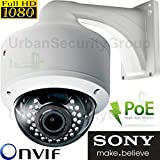 USG Sony DSP 2MP 1080P IP PoE Dome Network Security Camera MOTORIZED 2.8-12mm Auto-Focus Lens 30x IR LEDs IR-Cut, ONVIF, WDR, Weatherproof, Motion Detection Top Rated Dome Housing Review