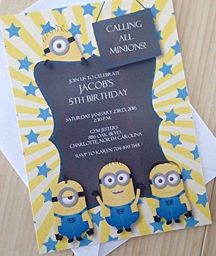 Minion Birthday Invitation]()