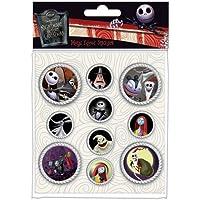 Nightmare Before Christmas - Sticker Set Metal Edged Pack