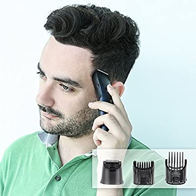 ELEHOT Hair Clipper Trimmer 5 in 1 Multifunctional Beard Grooming&Trimmer Kit with LCD Display, Replaceable Electric Shaver &Trimmer Heads for Men