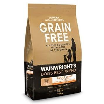 Wainwright S Adult Light Grain Free Complete Turkey And Vegetable