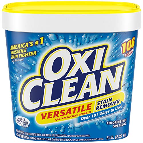 OxiClean Versatile Stain Remover Powder, 5 lbs. (Tough Stain Removal Carpet)