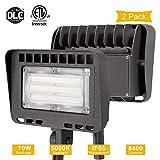Best Led Flood Lights - LIGHTDOT LED Flood Light Outdoor,Security Light, Knuckle Mount,70W Review