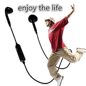 Theoutlettablet® Auriculares In-Ear conexión inalámbrica por Bluetooth HIFI Estéreo Dispone de Micrófono Manos Libres para Smartphone Verykool s5020 Giant COLOR BLANCO (BT3300)