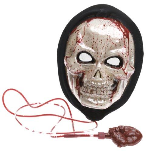 SKULL MASK DRIPPING BLEEDING (Morris Skull Mask)