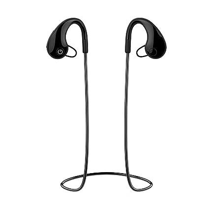 Ewendy - Auriculares deportivos inalámbricos con Bluetooth, IPX4 ...