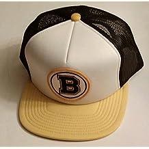 Boston Bruins Mitchell and Ness Vintage Hockey Snapback Cap