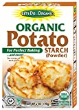 Let's Do Organic Potato Starch Powder, 6 Ounce (Pack of 6)