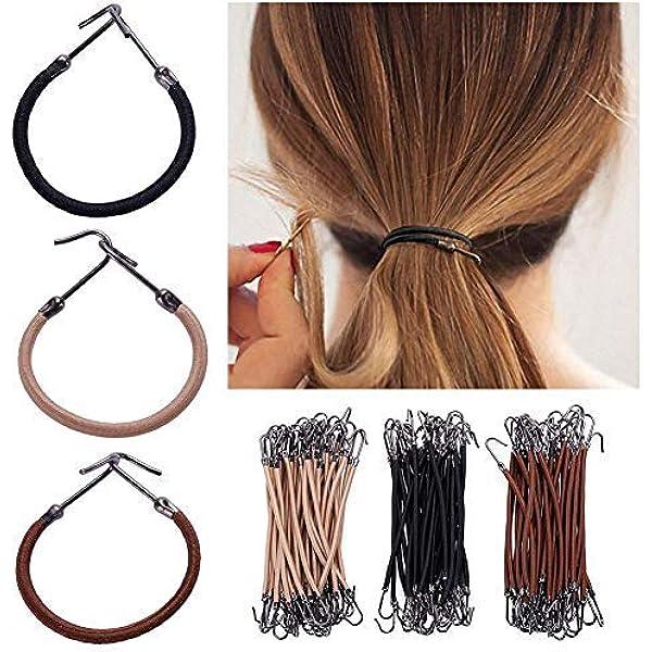 Amazon Com Janedream 15pcs Elastic Bands Hair Styling Ponytail
