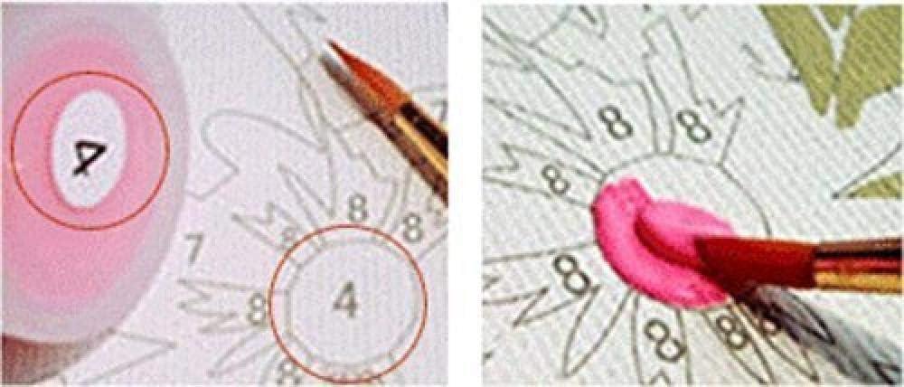 LGCCC Peinture par num/éro Kits avec Brosses et Peintures pour Adultes Enfants Seniors Junior D/ébutant 16/×20 Pouces Football Incandescent sans Cadre D/écoration de Maison