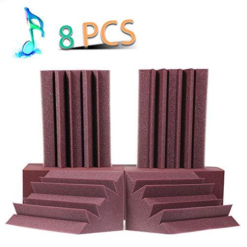 Acoustic Panels Bass Trap Studio Corner Wall Studio Foam Sound Proof Panels Nosie Dampening Foam 8 Pack-8.34.74.7