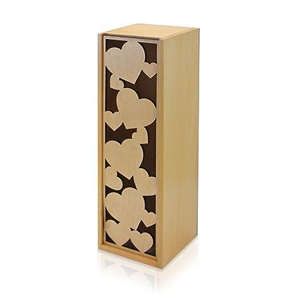Amazon Com Laser Cut Decorative Wine Box Wine Capsule Wine Gift