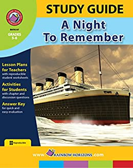 Amazon study guide a night to remember ebook marci haines study guide a night to remember by haines marci fandeluxe Document
