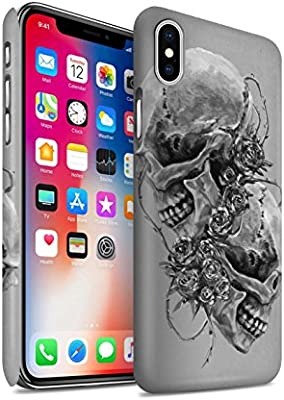 Stuff4® Phone Case/Cover/Skin/ip-3dswm/Skull Art Sketch Collection ...