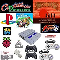 Video Game Mini Super Nintendo - 10000 Games - 4 Controles - HDMI - Fonte