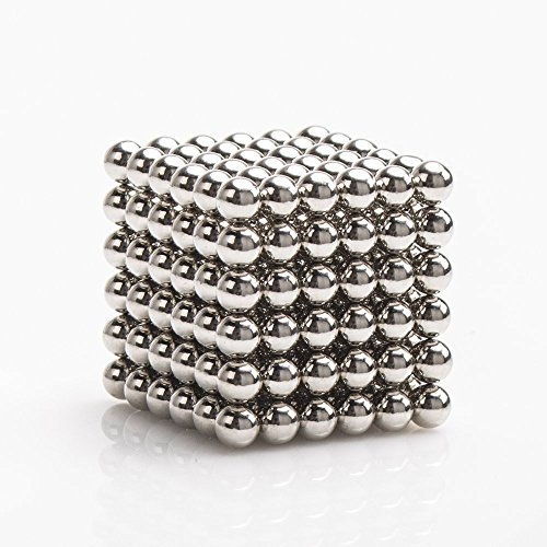 Magnetic Ball, LiKee Magnetic Sculpture Toys for Intelligence Development and Stress Relief (3MM Set of 216 Balls)