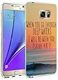 Samsung Galaxy Note 5 Cases and Covers Snap on Protective with Quote Isaiah 48:2