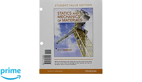 Amazon statics and mechanics of materials student value amazon statics and mechanics of materials student value edition plus modified mastering engineering with pearson etext access card package 5th fandeluxe Image collections