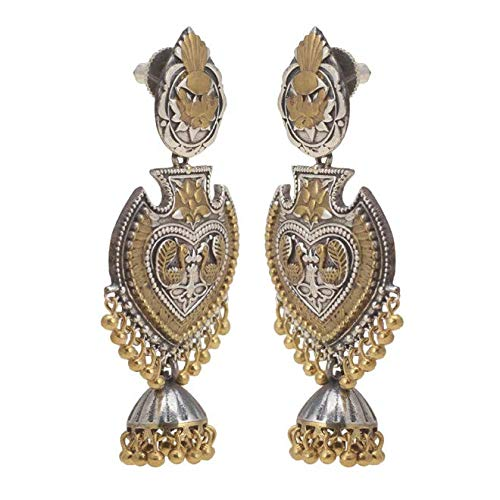 Taashya Traditional Golden Colour Earring