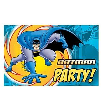 Batman Superheld Einladungskarten Mit Umschlag