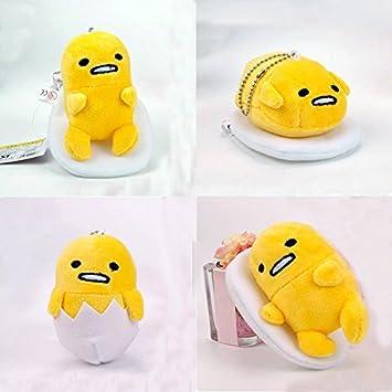 Amazon.com: (4pcs. Juego) japonés Gudetama felpa juguetes ...