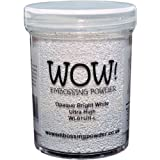 WOW! Embossing Powder 160ml-Opaque Bright White Superfine