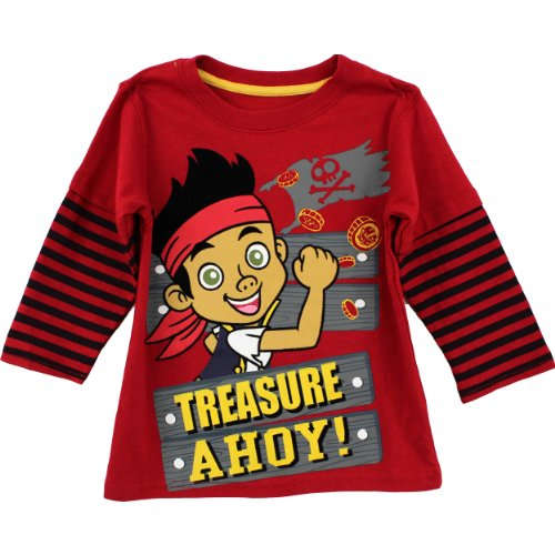 Disney Jake and the Neverland Pirates Toddler Boys Shirt (2T) ()