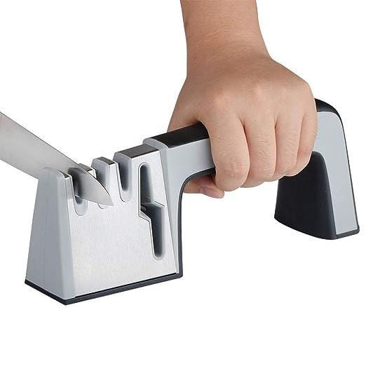 Afilador de cuchillos de cocina profesional, kit de ...