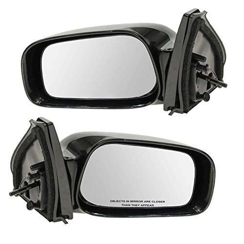 Manual Remote Side View Mirrors Left & Right Pair Set for 03-08 Toyota Matrix
